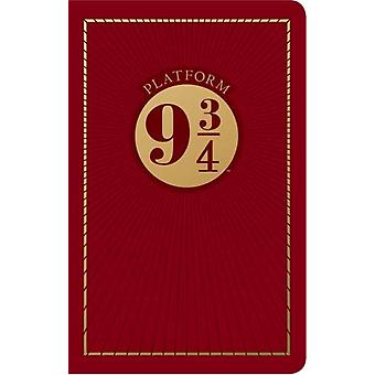 Harry Potter Platform Nine and ThreeQuarters Travel Journal by Insight Editions