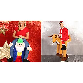 Christmas Shop Adult Unisex Ride On Costume