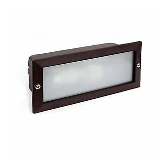 Liso Black Garden Downlight 1 Bulb