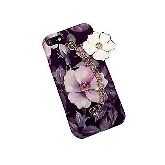 Luxury Girl Fashionable Slim Durable Premium Iphone Case 7Plus Flower
