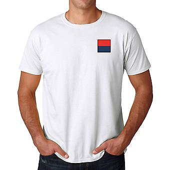 Royal Artillery Embroidered TRF Logo - Official British Army Cotton T Shirt