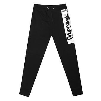 Boy's Money Junior Block Signature Pants in Black