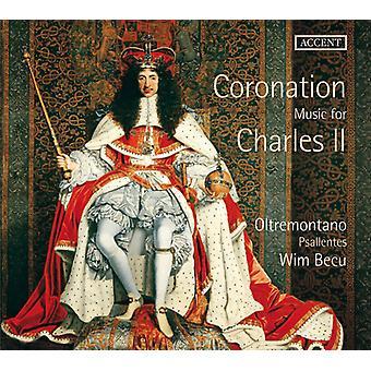 Parsons / Mersennen / Locke / Fantini / lapsi - Coronation musiikki Kaarle II [CD] USA tuonti