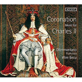Parsons / Mersenne / Locke / Fantini / barn - kroning musik for Charles II [CD] USA import