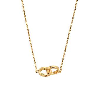 Olivia Burton Watches Obj16enn56 Interlink Necklace Gold