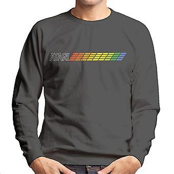 Atari Colour Logo Mænd's Sweatshirt