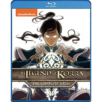 Legenden om Korra: komplett serie [Blu-ray] USA import