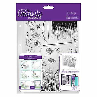 DocraftsA5 Clear Stamp Set (15pcs) - Meadow (DCE 907113)