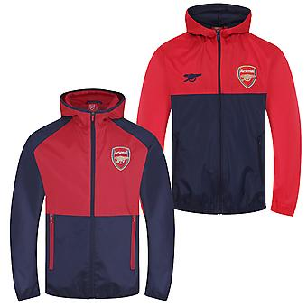 Arsenal FC Official Football Gift Boys Shower Jacket Windbreaker