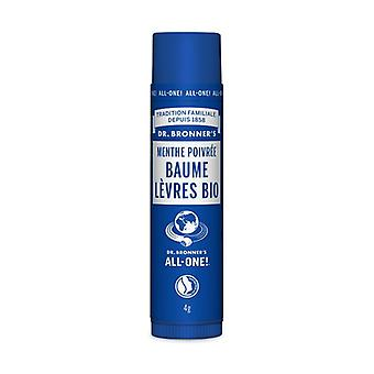 Bálsamo labios Bio menta piperita (Baume Lèvres Bio menthe poivrée) 4 g