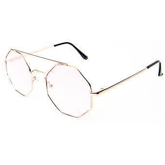 نظارات شمسية Unisex Cat.1 عدسة الوردي (19-095)
