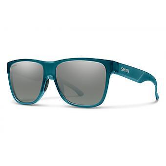 نظارات شمسية Unisex Lowdown XL 2 الاستقطاب مات الأخضر / البلاتين