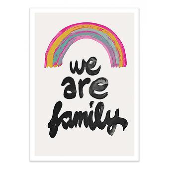 Art-Poster - Siamo famiglia - Treechild 50 x 70 cm