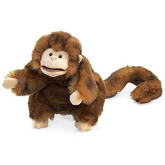 mano burattino - Folkmanis - scimmia nuovi animali morbido bambola peluche giocattoli 2123