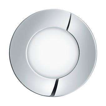 LED Bathroom Wall Light Chrome IP44