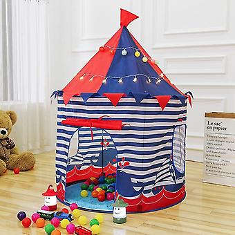 Princess Prince Play Tent Portable Foldable Castle House