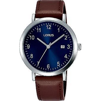 Lorus Herren Kleid Uhr Sunray blau Zifferblatt & klar weiß arabisch Ziffern (RH939JX9)