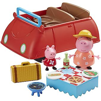 Peppa Pig - Peppa's Big Red Car Kids Toy