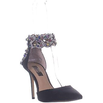 INC Internationella koncept Womens kallista Fabric Spetsig tå Casual Ankle Strap Sandaler