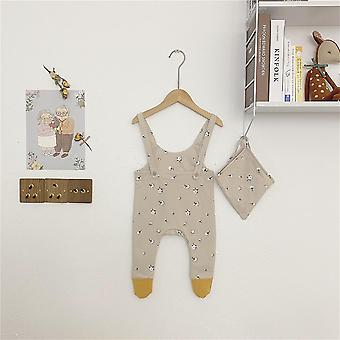 Baby Kleidung ärmellos, Strampler, Hut, Overall