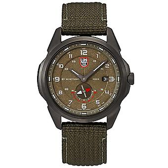 Luminox Adventurer Field Automatic Green Khaki Strap Mens Watch XL.1767