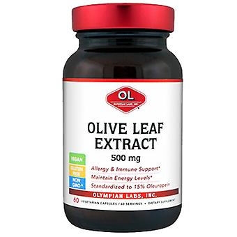 Olympian Labs Olive Leaf Extract, 500 mg, 60 caps