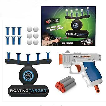 Nieuwe Shooting Gun Floating Hovering Ball Indoortarget Game, Shooting Game Kids