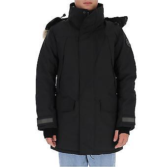 Canada Goose 2073mb61 Men's Black Nylon Down Jacket