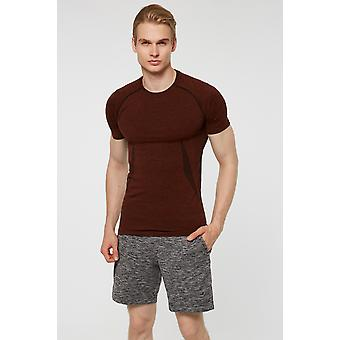 Jerf Mens Condor Brown Tee Shirt