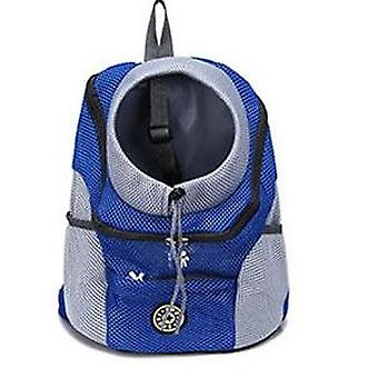 New Out Double Shoulder Portable Travel Mesh Backpack & Carrier For Pet