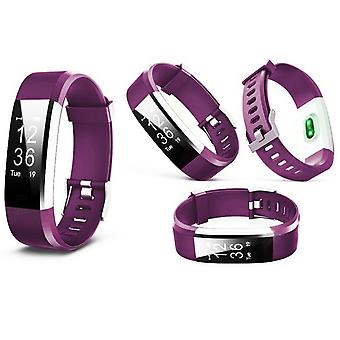 Aquarius Touch Screen Fitness Activity Tracker con Dynamic HRM - Purple
