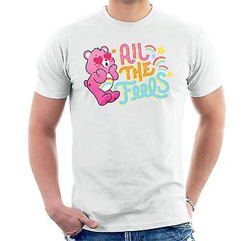 Care Bears Unlock The Magic All The Feels Men's T-Shirt