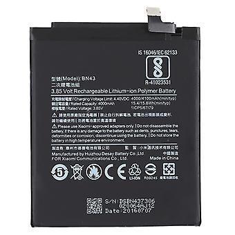 סוללת ליתיום-פולימר 400mAh BN43 עבור Xiaomi Redmi Note 4X