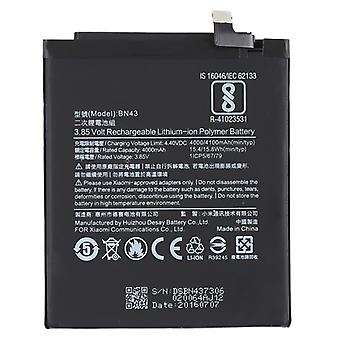 4000mAh لي بوليمر البطارية BN43 ل Xiaomi Redmi ملاحظة 4X