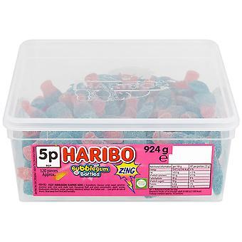 Haribo Bubblegum Bottles Zing Tub