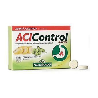 Acicontrol Rapid 20 chewable tablets