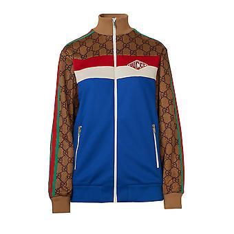 Gucci 526524x9v994925 Dames's Multicolor Katoen Sweatshirt
