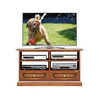 4-Bay Midi TV holder with 2 drawers