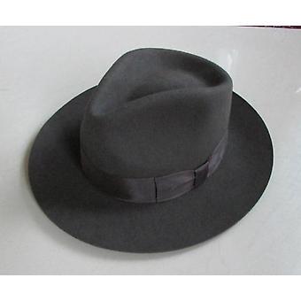Wool Fedora Hat Unisex Fedoras Adult Fashion Trilby Popular Headwear Wool