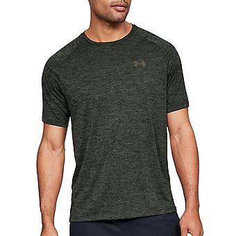 Under Armour Tech 2.0 Mens Short Sleeve Training T-Shirt Green
