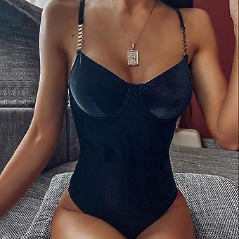 Women Rompers Summer Sexy Party Skinny Slim Sleeveless Bodycon Bodysuit