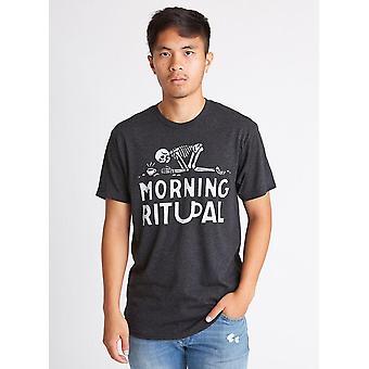 Tee-shirt de café rituel du matin