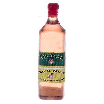 Puppen Haus Whisky Scotch Whiskey Flasche Miniatur Pub Bar Shop Zubehör