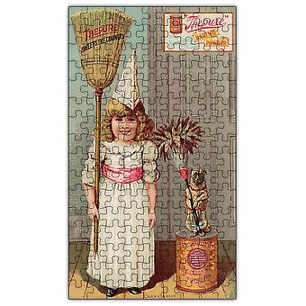 Baking Powder Vintage Poster Wooden Jigsaw Puzzle