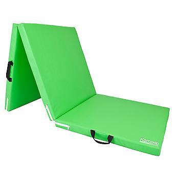 Komodo Tri Folding Yoga Mat - Green