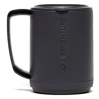 New Lifeventure Ellipse Insulated Travel Mug Grey