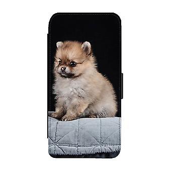 Pommeren Puppy iPhone 11 Portemonnee Hoesje