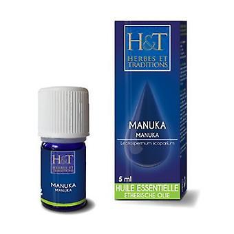 Manuka Essential Oil (Leptospermum scorparium) 5 ml of essential oil