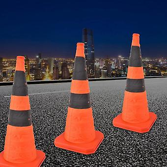 Road Traffic, Collapsible Cones With Reflective Strip, Safety Sign Verkeersbord