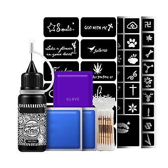 Temporary Tattoo Pigment Body Paint Kit